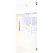 Porte intérieure en verre Vetro C001 mat 201x73 cm