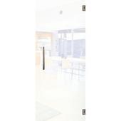 Porte intérieure en verre Vetro C001 mat 201x83 cm