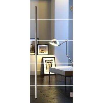 Solid binnendeur Vetro C002 glas 201x83 cm