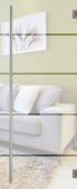 Binnendeur Vetro C003 mat glas design 201x83 cm