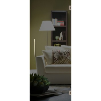 Solid binnendeur Vetro G000 glas grijs 201x73 cm