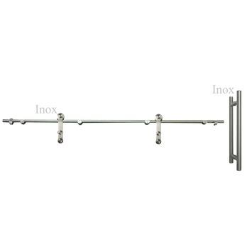 Rail et poignée Vetro GH004 200 cm 40 cm