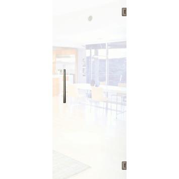 Solid binnendeur Vetro C001 mat glas 201x93 cm