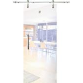 Porte coulissante en verre Slide Vetro C000 mat 215x83 cm