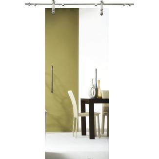 porte coulissante en verre slide vetro c000 translucide 215x83 cm portes en verre portes. Black Bedroom Furniture Sets. Home Design Ideas