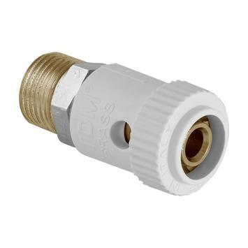 """Van Marcke Push-fit koppeling recht Superpipe multipack 1/2""""M x Ø16/2"""