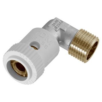 """Van Marcke Push-fit koppeling haaks 90° Superpipe 3/4""""M x Ø20/2"""