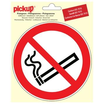 Pickup pictogram verboden te roken ø 15 cm