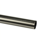 Tringle Intensions aspect inox ø20 mm 200 cm