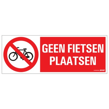 Pickup bord 33x12 cm geen fiets plaatsen
