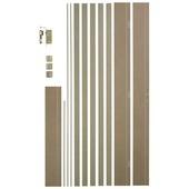 Huisserie Easykit CanDo MDF hydrofuge 20 cm vert