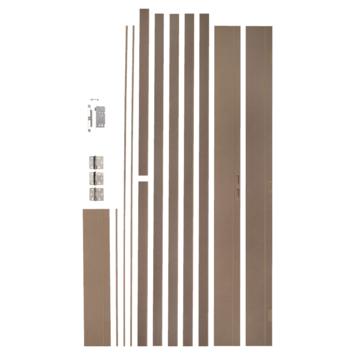 Huisserie CanDo budget en MDF naturel 17 cm