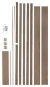 CanDo Budget Kit deurkassement MDF bruin 17 cm