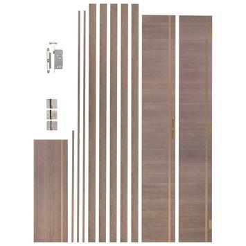 CanDo Art Deco deurkassement bronze oak 30 cm