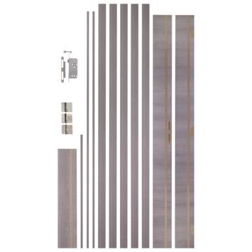 CanDo deurkassement folie zilver eik 16,5 cm