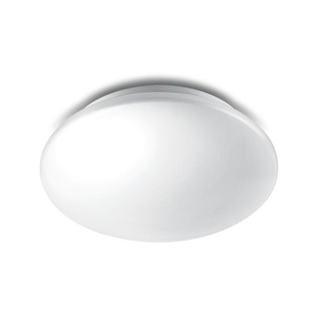 Philips Plafonniere Essentials Moire LED Wit 10W