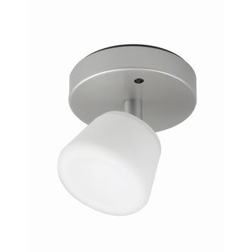 iDual spot Emerald met geïntegreerde LED 6 W 345 lumen inox incl. afstandsbediening