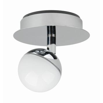 iDual Olivine spot met geïntegreerde LED 6W 345 lumen chroom