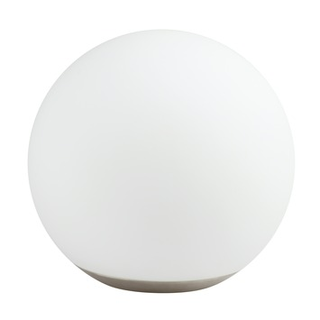 iDual tafellamp Dahlia met geïntegreerde LED 8 W 500 lumen inox, incl. afstandsbediening