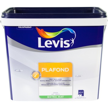 Levis Plafond extra mat wit 5L