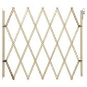 Barrière de porte/d'escalier Sam bois 60-107 cm