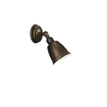 Spot Petrol E14 max.8 W cuivre, sans ampoule