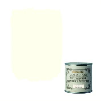Rust-Oleum Chalky finish meubelverf Krijtwit 125 ml