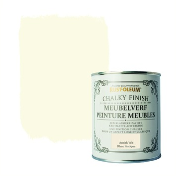 Rust-Oleum Chalky finish meubelverf Antiek Wit 750 ml