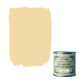 Rust-Oleum Chalky finish meubelverf Slagroom 125 ml