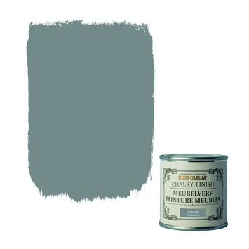 Rust-Oleum Chalky finish meubelverf Antraciet 125 ml