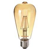 Sylvania ToLEDo LED filament peerlamp met tip E27 400 lumen 4 W = 40 W goud