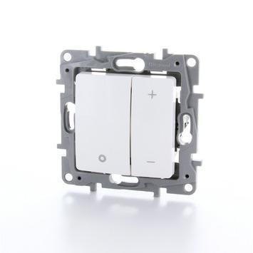 Legrand Niloé universele drukknopdimmer 3-400 W wit - geschikt voor LED