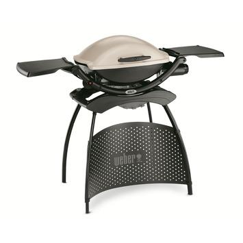 Barbecue à gaz Q2000 Weber titan avec support