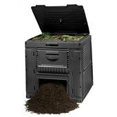 Keter E-composter 470 L zwart 79x79x79 cm