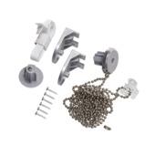 Kettingmechanisme rolgordijn aluminium 160cm