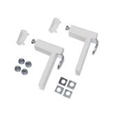 Étaus pour support PVC Blanc