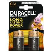 Piles Duracell Plus Power C 2 pack