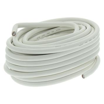 Q-link coax kabel RG59 50 m wit