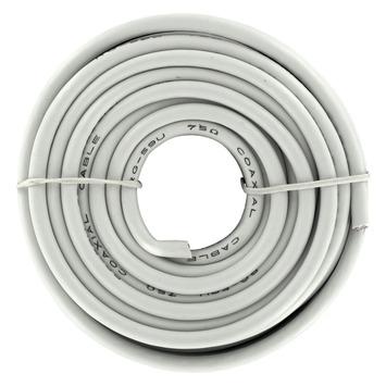 Q-link coax kabel RG59 10 m wit