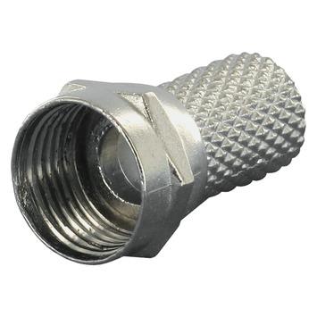 Connecteur F Q-line pour câble coaxial 6 mm² 6 pièces