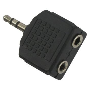 Q-link audio splitter jack