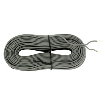 Q-link luidsprekersnoer 2x 0,25 mm² 25 m grijs