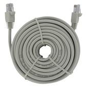 Câble UTP CAT5 Q-link 10 m blanc avec connecteurs