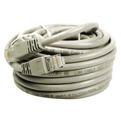 Q-link UTP-kabel CAT6 10m wit incl. RJ45 connectoren