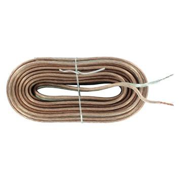 Q-link luidsprekersnoer 2x 1,5 mm² 10 m transparant