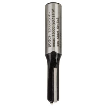 Bosch vingerfrees 8 mm, D6 16X48 mm 1 stuk