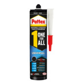 Pattex One for All Universal zwart 390 g