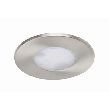 iDual Performa inbouwspot met geïntegreerde LED 7,5 W 345 lumen inox