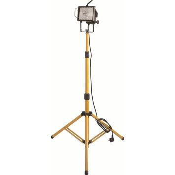 Profile straler met halogeenlamp op statief R7S maximum 400 W