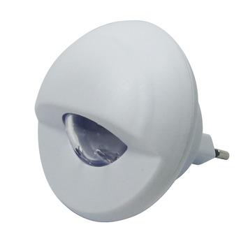 Nachtlamp met geïntegreerde LED en draaibare lichtbundel 0,34 W wit
